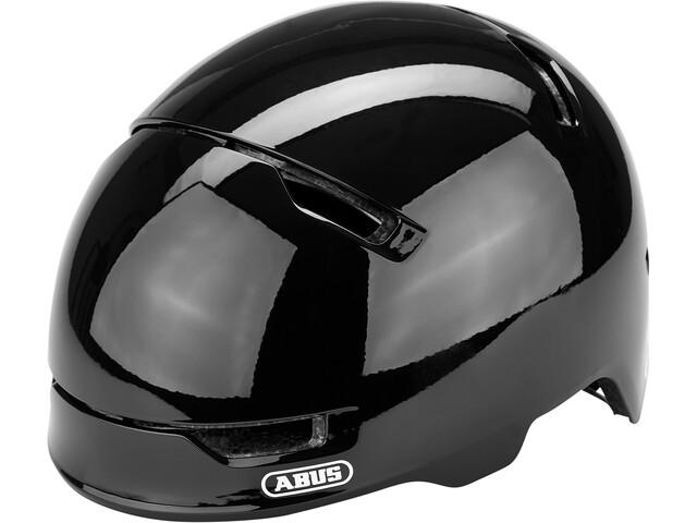 ABUS Scraper 3.0 Casque Enfant, shiny black